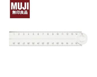 MUJI Acrylic Double Ruler/ Foldable Ruler