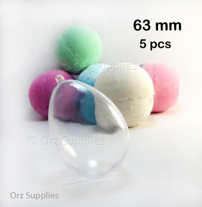 heart ball bath bomb mould choose shape /& size JD egg plastic acrylic mold
