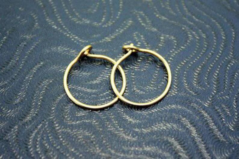 7dab63c818df15 Gold Hoops Small Gold Hoop Earrings 14K Gold Filled Hoops | Etsy