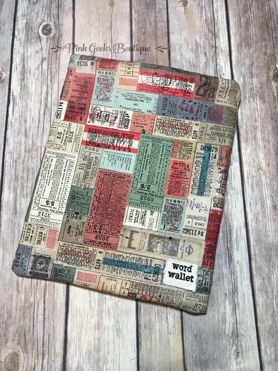 Wort Geldbörse, Buch Hülle, Buchtasche, Keeper der Bücher, Indie Buch Hülle, Indie Buch Tasche, Buch Beschützer