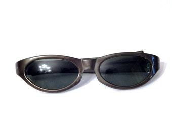 a63845af35 Vintage Cool Ray Sunglasses - Vintage Polaroid Cool Ray - Green Cat Eye -  Vintage Cat Eye Sunglasses