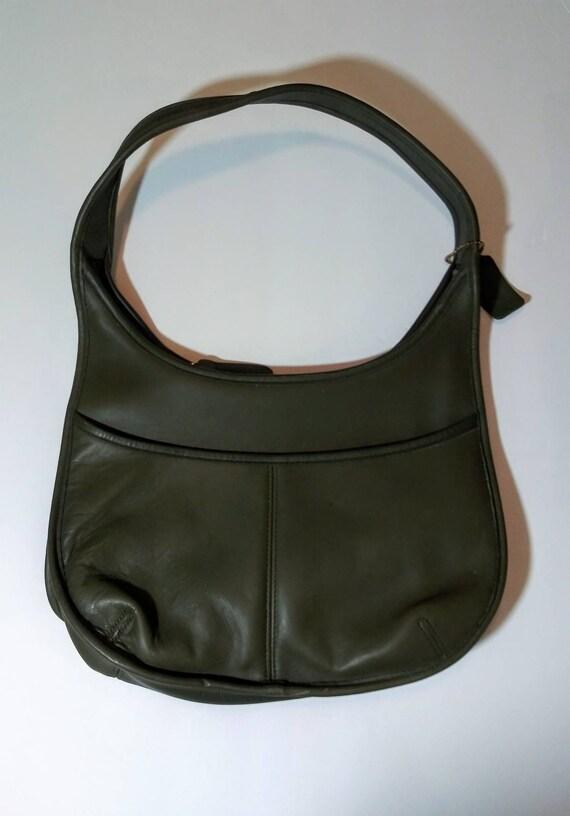 Vintage coach handbag - coach ergo bag - slim coac