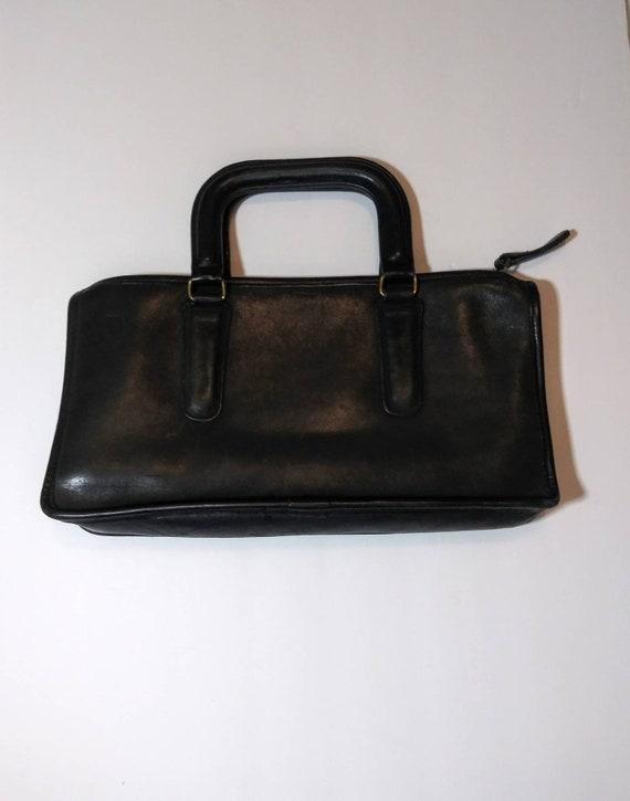 Vintage coach satchel - small coach tote - vintag… - image 2