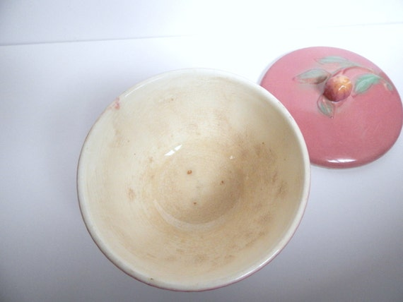 Pottery Planter Rectangle Dish Vintage Hand Made Pink Pottery Bowl Pottery Basket, Pottery Dish Artistic Pottery Bread Bowl