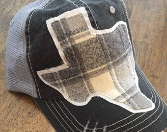 Cotton Boll Texas Trucker Hat