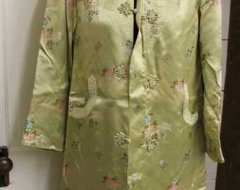 a335d77bb17 Vintage gold Chinese coat jacket