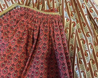 Womens 1860s Civil War Era Apron