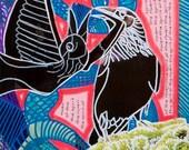 "Raven Spirit Glicee Print 8"" x 10"""