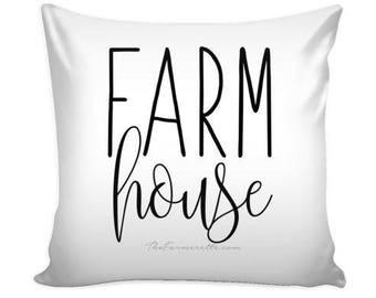 Farm House Pillow Cover