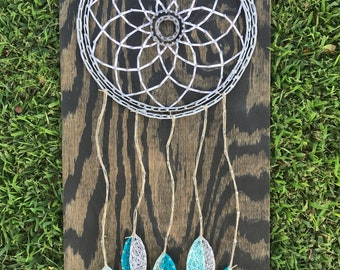 String Art Dreamcatcher