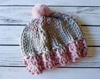 bf33bba0dae8a Chunky Knit Child Hat