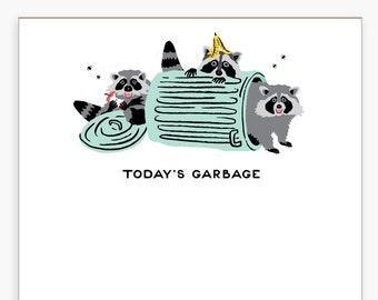 Garbage Racoons Notepad