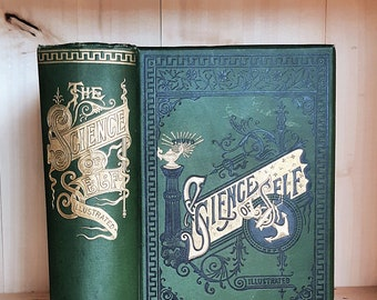 Science of Self by David Wheaton 1892 Antique Self Help Book in Gorgeous Decorative Victorian Binding