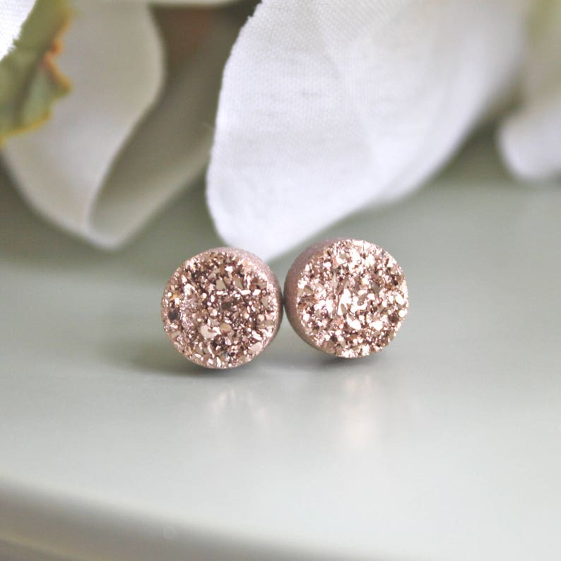 10-20% OFF BRIDESMAID SETS Rose Gold Earrings Bridesmaid ...