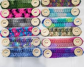3 pack * Crochet Comfort Bands * Ear Savers * Ear Protectors * FREE SHIPPING