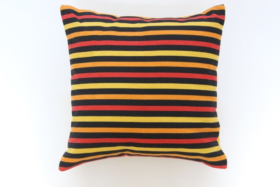 Brilliant Striped Pillow Cover Bright Throw Pillows Modern Accent Pillows Unemploymentrelief Wooden Chair Designs For Living Room Unemploymentrelieforg