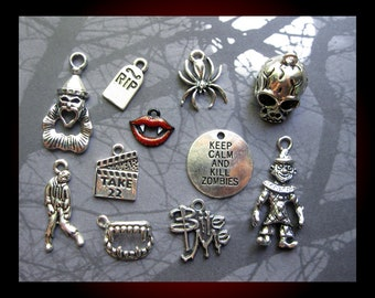 Scary Movie Charm Collection - C2732