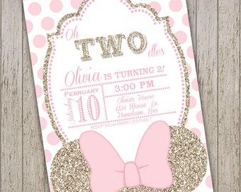 minnie mouse birthday invite minnie invite minnie mouse etsy