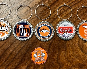 including silver helmet charm Set of 6 Tampa Bay Buccaneers inspired wine glass charms for the wine lover in your life...