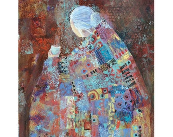 Quilt Art print - The Offering