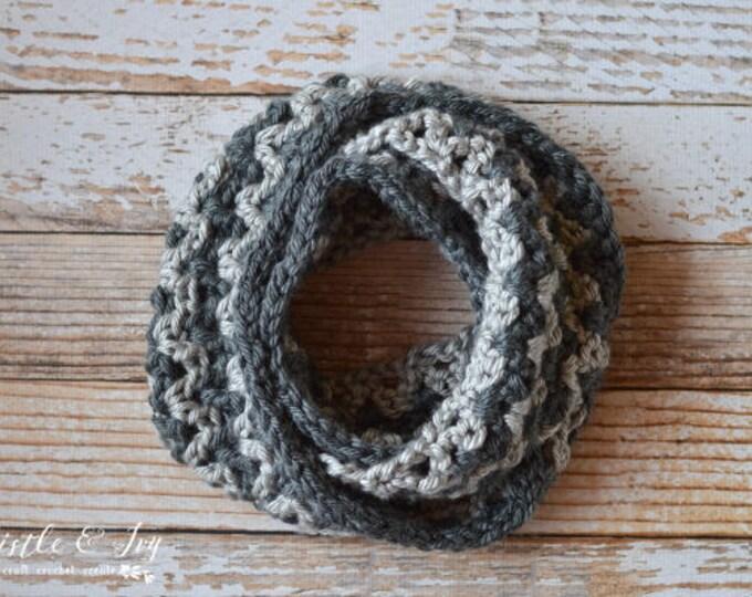 Chunky Ric-Rac Scarf Crochet Pattern PDF DOWNLOAD