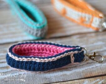 CROCHET PATTERN: Crochet Key Fob Crochet pdf DOWNLOAD
