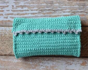 CROCHET PATTERN: Everia Picot Clutch Crochet pdf DOWNLOAD