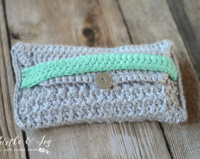 CROCHET PATTERN: Color Pop Clutch Crochet pdf DOWNLOAD