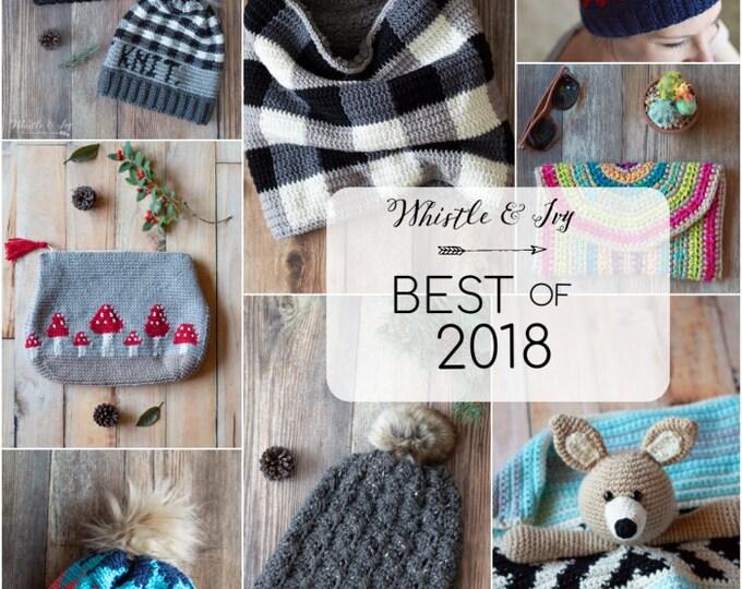 Favorite 2018 Patterns eBook