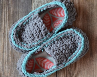 CROCHET PATTERN: Women's Quick and Cozy Slippers pdf DOWNLOAD