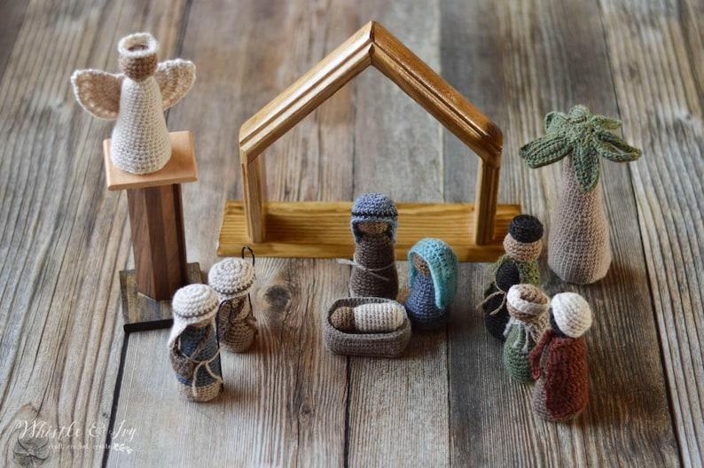Crochet Nativity Set Pattern
