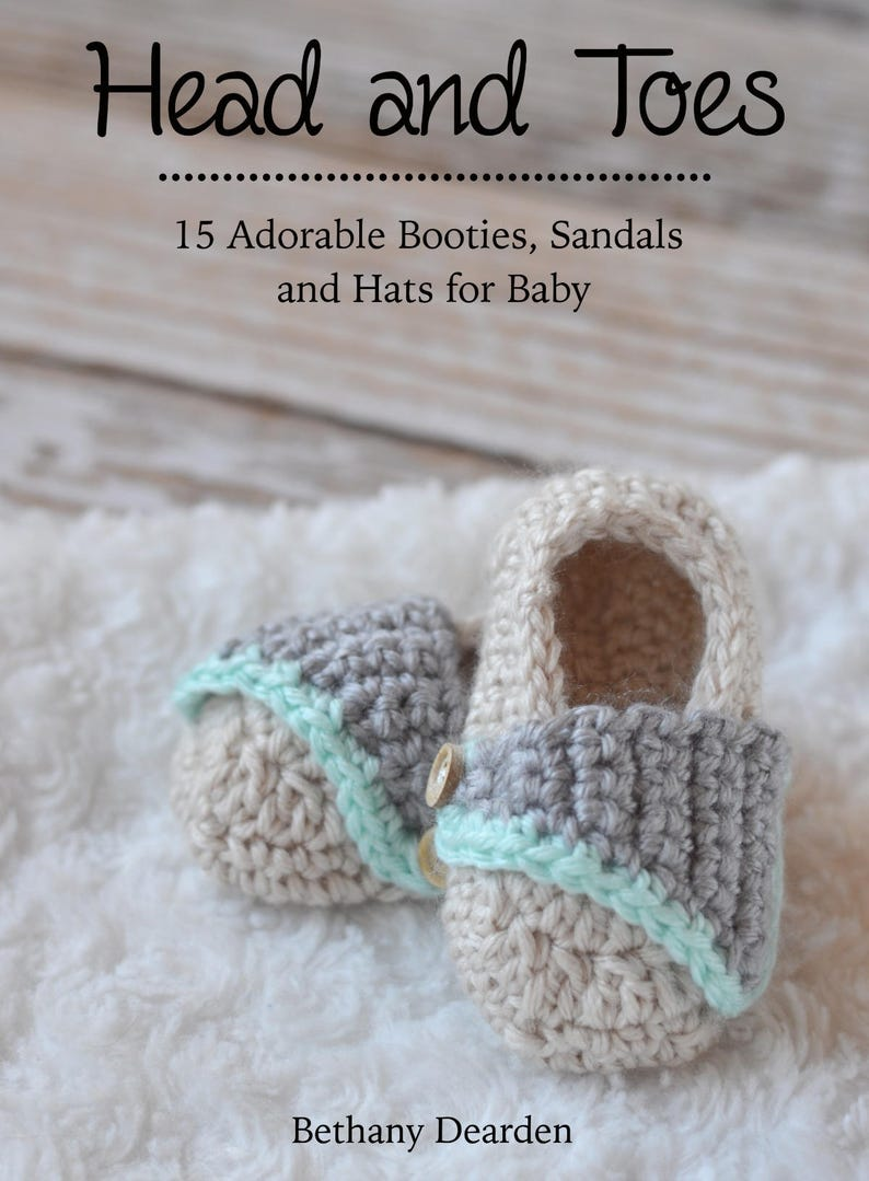 Head and Toes Baby Collection  15 Adorable Crochet Booties image 0