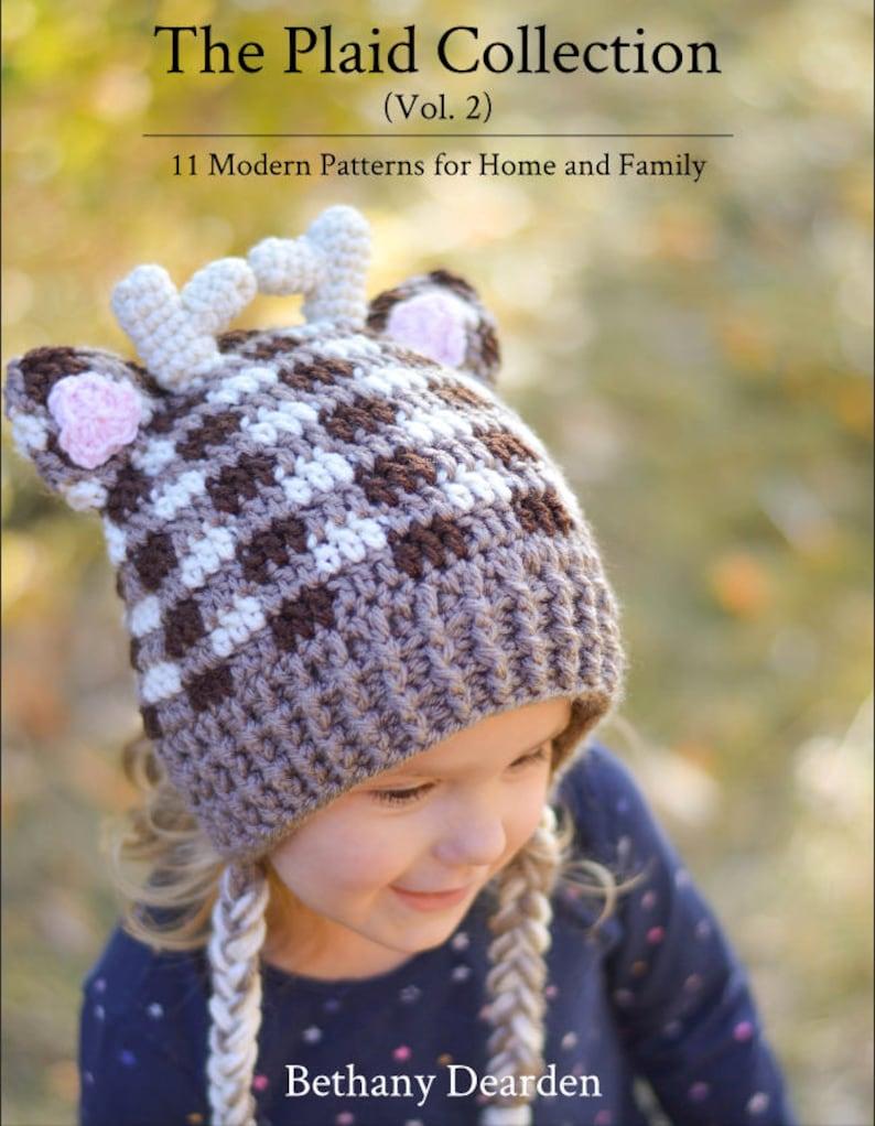 PATTERN EBOOK: Crochet Plaid Collection Vol. 2  11 Patterns image 0