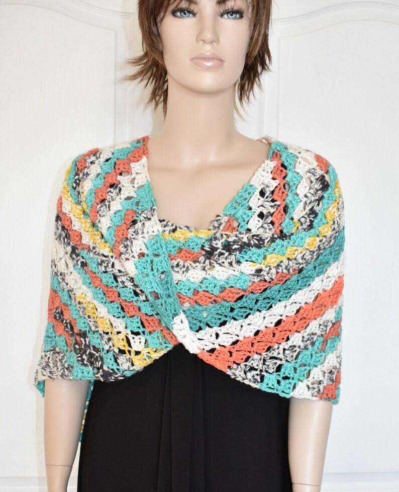 Crochet Poncho for Women Two Way Poncho Knit Poncho Crochet image 0