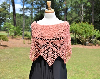 Crochet Poncho, Crochet Shawl, Crochet Top, Crochet Shrug, Crochet Pullover, Knit Poncho, Knit Shawl, Knit Shrug, Festival Poncho, Capelet