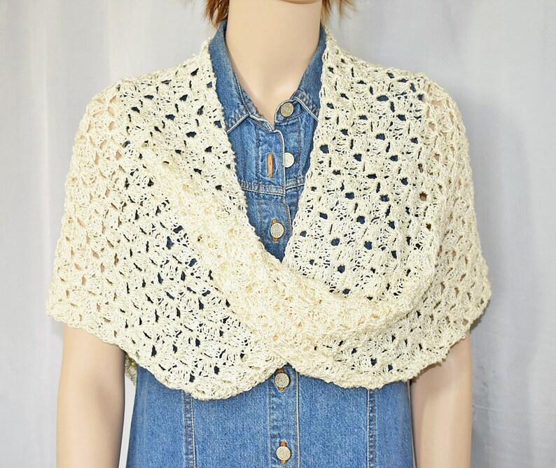 Crochet Poncho Knit Poncho Crochet Shawl Bridal Shawl image 0