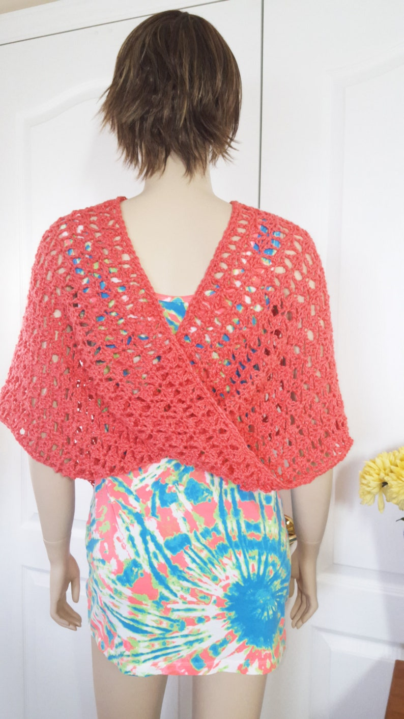 Crochet Poncho  Knit Poncho  Crochet Shawl  Knit Shawl  image 0