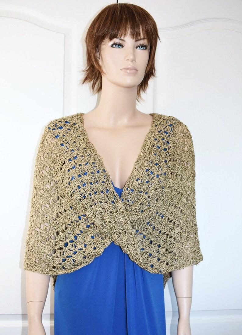 Crochet Poncho Crochet Shawl Knit Poncho Crochet Jacket Knit image 0