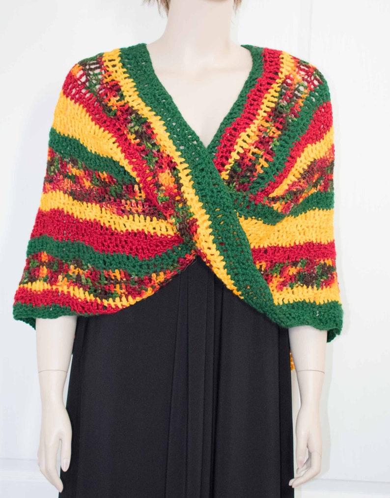 Crochet Poncho Knit Poncho Crochet Shawl Crochet Jacket Knit image 0
