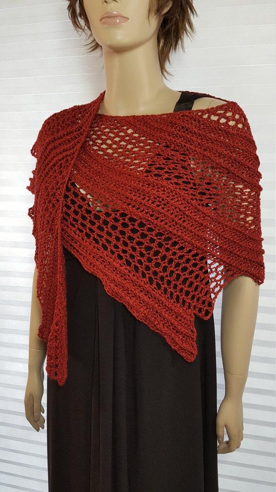 Häkeln Sie Schal Häkeln Sie stricken Schal Dragon Wing | Etsy