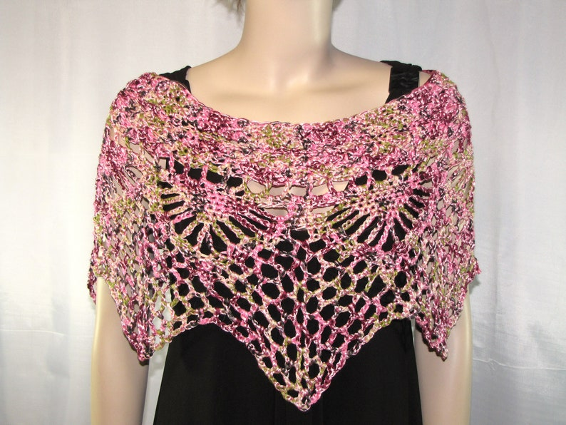 Crochet Poncho Crochet Shawl Crochet Shrug Knit Poncho Knit image 0