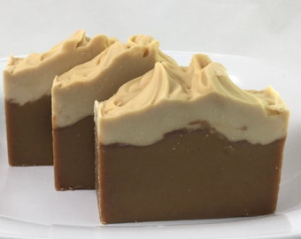 Pumpkin Spice Scented Handmade Soap Holiday Thanksgiving Hostess Gift #343