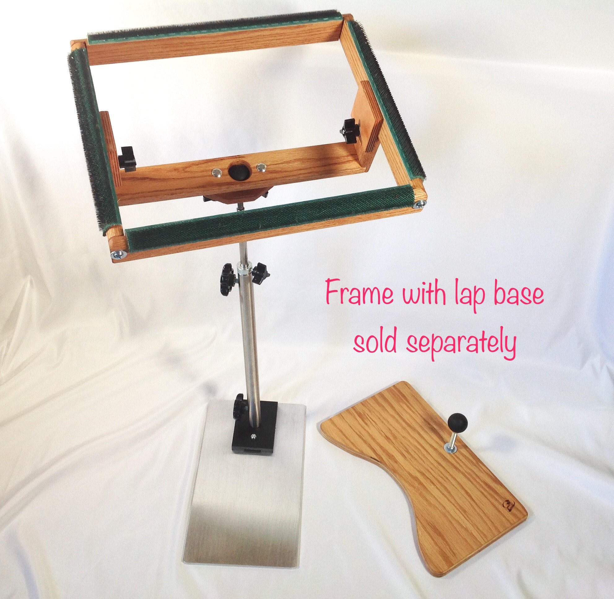 Floor Stand For Rug Hooking Frame With Ball And Socket