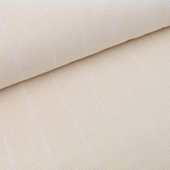 One Yard Cotton Monks Cloth for Rug Hooking, J685, Raw Edges, Rug Hooking Backing Fabric, Foundation Fabric