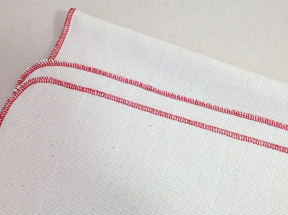 "Half Yard Monks Cloth for Rug Hooking with Serged Edges, 29"" x 36"", J781, Foundation Fabric"