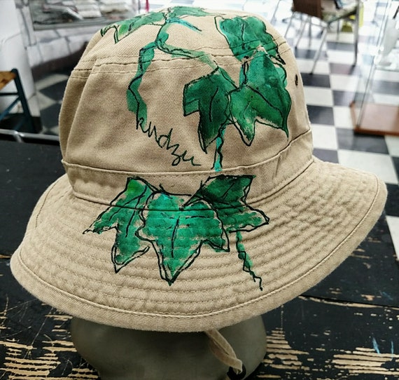 9a876f8e07a Kudzu Handpainted Bucket Hat