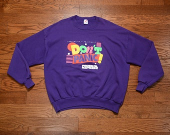 f031b0eba3d7e Vintage 90s Original Rufnek sweatshirt Charlotte Hornets   Etsy