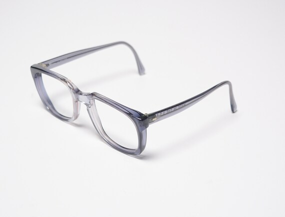3f47c93891f vintage 60s eyeglasses wayfarer style glasses gray purple blue