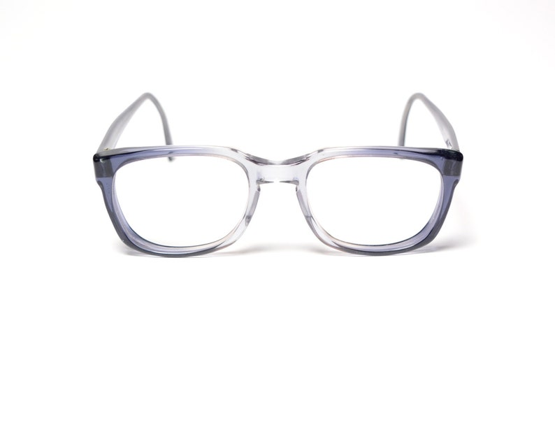 f80120b006a72 Vintage 60s eyeglasses wayfarer style glasses gray purple blue