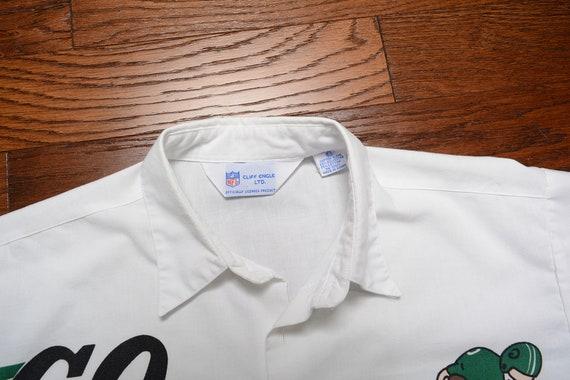 Vintage des années 80 Jets Engle Cliff chemise Jets de New York Jets vont chemisier chemise NFL équipe vêtements 1980 vintage Jets chemise LXL